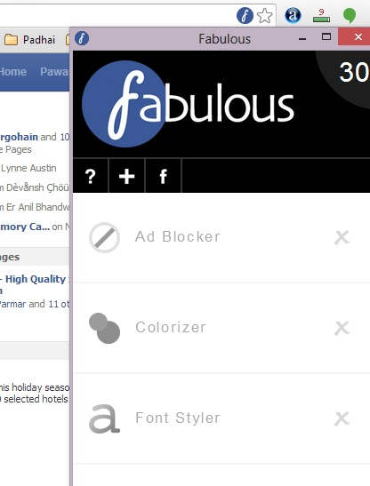 Change Facebook Color to any other