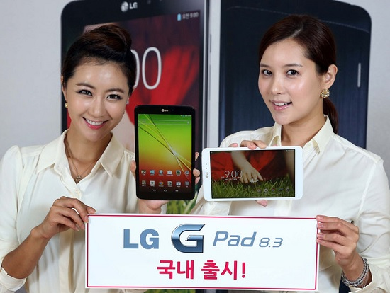 LG G Pad 8.3 launched