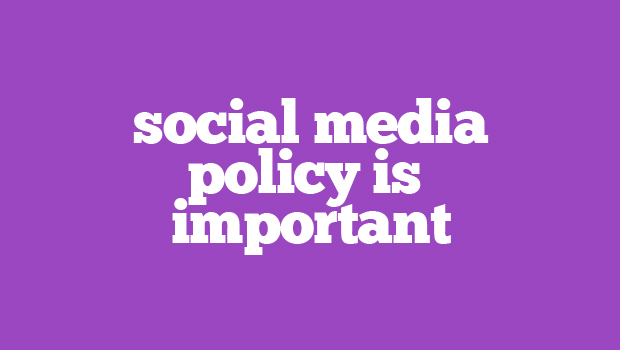Social Media Policy Reputation Management