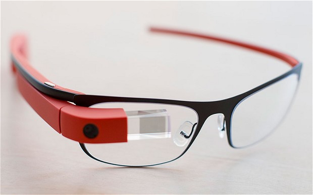 Google Glass Thin Red