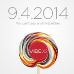 Lenovo Sends Out Invites Teasing Android L Based Vibe X2 at IFA 2014