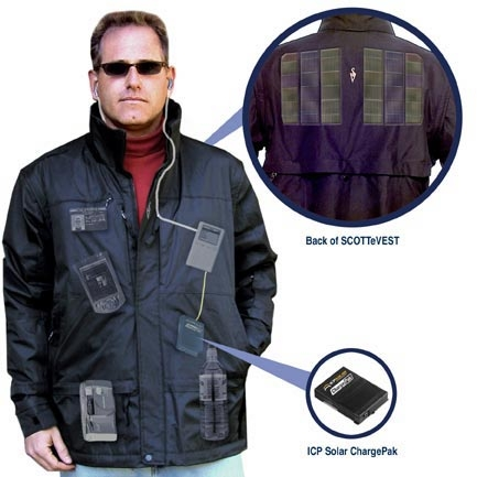 Solar-powered Jacket-10-stylish-wearables-recommended-for-you