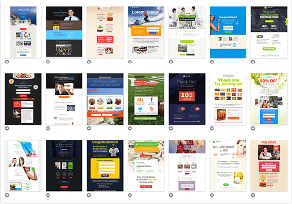 Landing pages GetResponse